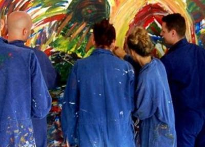 Teambuilding: Creativ Team-Painting