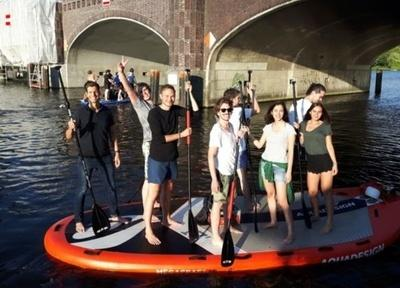Teambuilding: SUP Tour Berlin